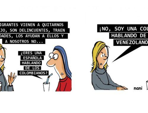 ¿Inmigrantes venezolanos que censuran el humor?
